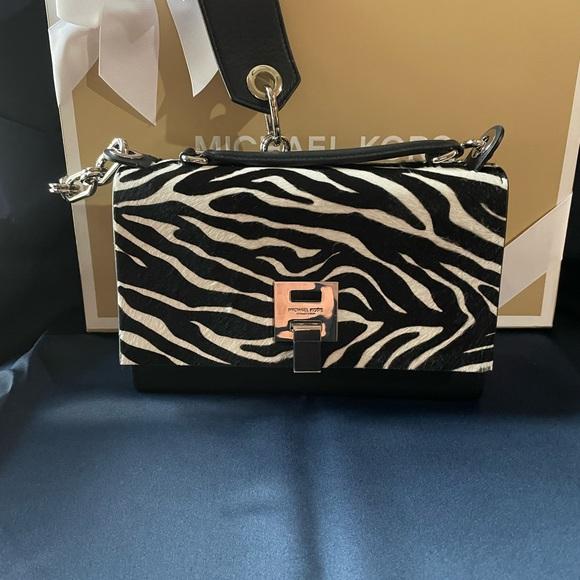 Michael Kors Collection Handbags - Zebra print calf hair MKC Collection bag